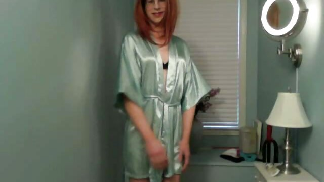 Stripteasing ladyboy free reife tube pleasures herself